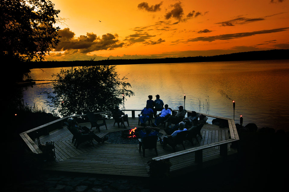 Silver Water Wheel Lodge on Lac Seul