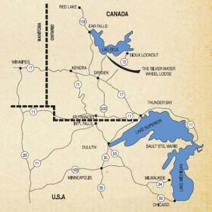 Lac Seul Regional Map