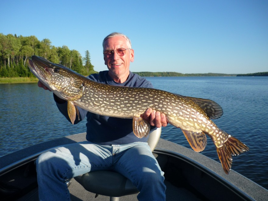 September 9 2011 silver water wheel lodge for Lac seul fishing report