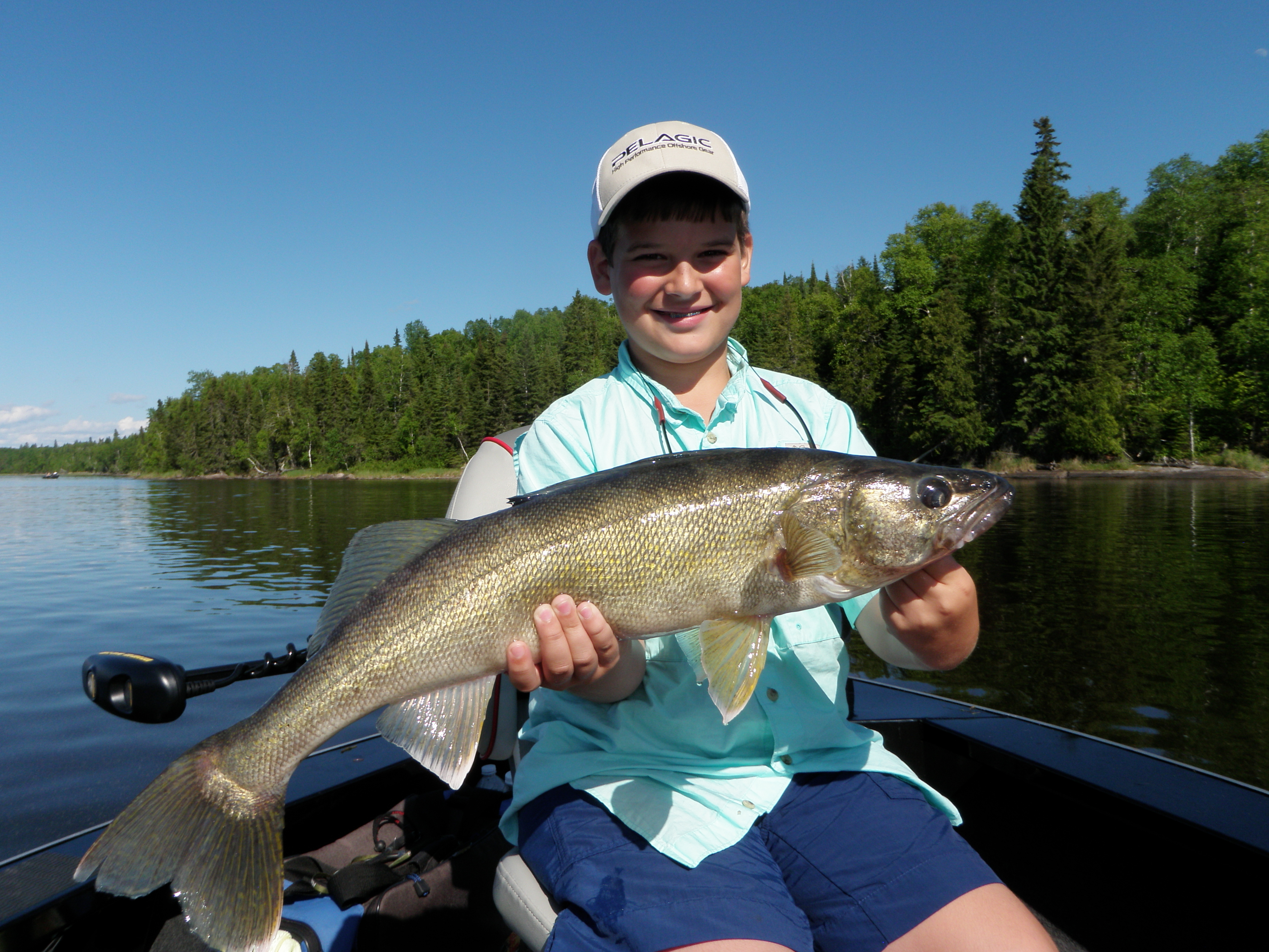 June 21 2013 silver water wheel lodge for Lac seul fishing report