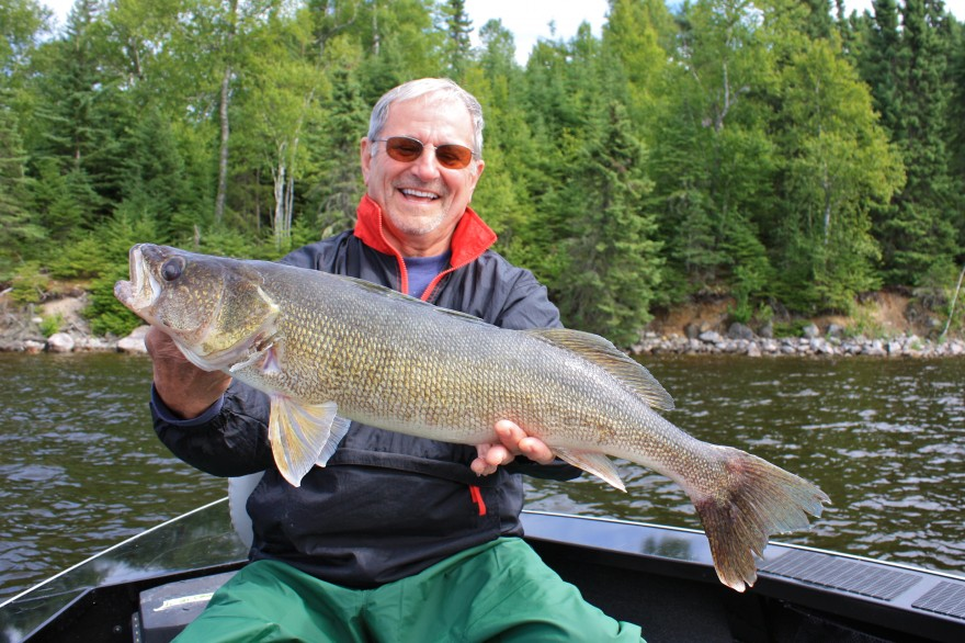 July 26 2013 silver water wheel lodge for Lac seul fishing report