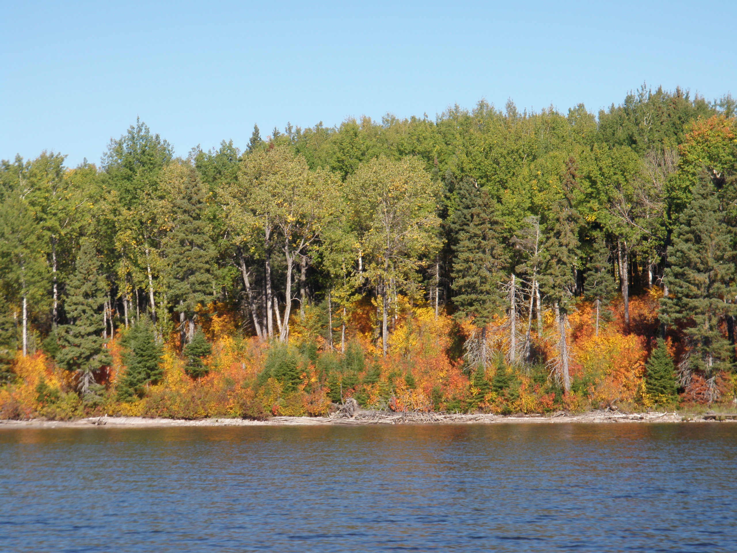 September 23 2014 the end silver water wheel lodge for Lac seul fishing
